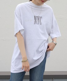 THE SHINZONE / シンゾーン NYC TEEグレー