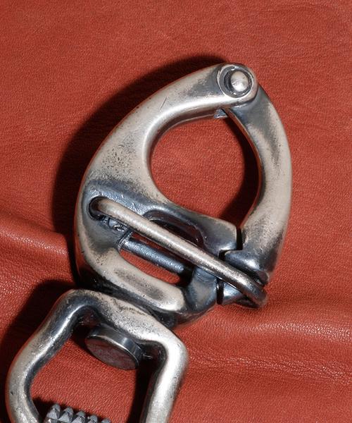 GILD(ギルド)の「GILD / ギルド / Large studs link keyholder ラージ スタッズ リンク キーホルダー / G161-KH01(キーホルダー)」|詳細画像