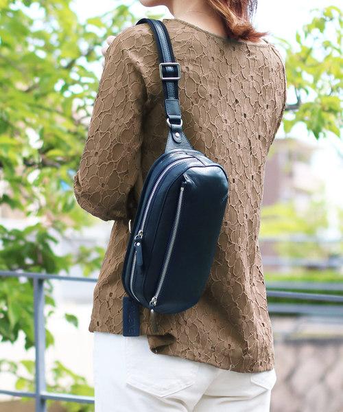 大好き 牛革レザーボディバッグ(ボディバッグ/ウエストポーチ)|HALEINE(アレンヌ)のファッション通販, MGCメガネ販売:30c7e6c9 --- believe.tiere-gesund-erhalten.de