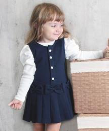 Rora(ローラ)のRora メラ ジャンパースカート(2color)(スカート)