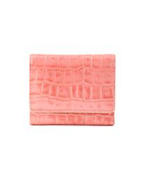ANEMONE(アネモネ)の三つ折りレザーミニ財布(財布)