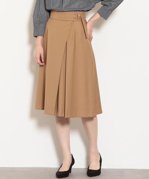 CS monable ラップフレア スカート