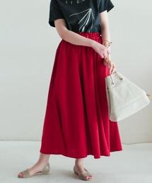 NOMBRE IMPAIR(ノンブルアンペール)のブライトアムンゼン マチ付きスカート(スカート)