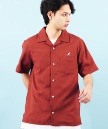 KANGOL(カンゴール)のKANGOL別注 カンゴール オープンカラーシャツ(シャツ/ブラウス)