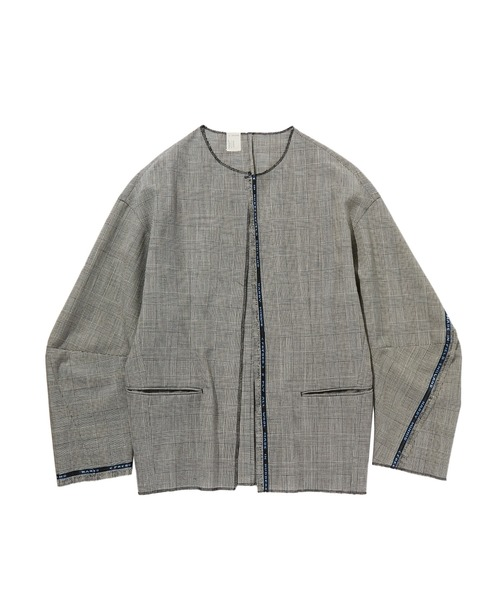SPRING2020 COLLARLESS BLOUSON