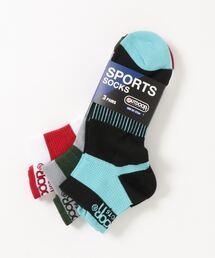 スポーツ靴下(ソックス) 3足組 ブランドロゴその他1