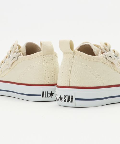 converse コンバース  CHILD ALL STAR N Z OX チャイルド オールスター N Z オックス 32712050 WHITE
