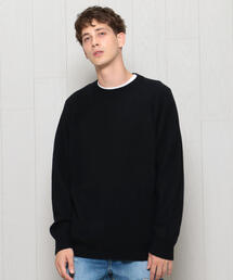 <H>CASHMERE CREW NECK KNIT/ニット