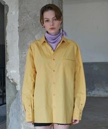 【AGENDER】フラット ライン カラー シャツ(Tシャツ/カットソー)