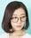 Atelier mimi(アトリエ ミミ)の「コンビネーションフレームメガネ 眼鏡 伊達眼鏡 だてメガネボストンメガネ(メガネ)」|ブラック