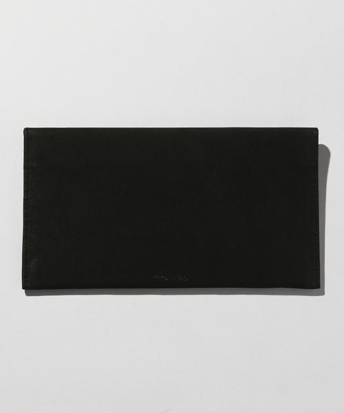 <STAMPD> LEATHER ENVELOPE/レザーケース