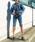 HOLIDAY(ホリデイ)の「HIGH WAIST SKINNY DENIM HALF PANTS (HARD WASH) ハイウエストスニキーデニムハーフパンツ (ハードウォッシュ)(デニムパンツ)」 詳細画像