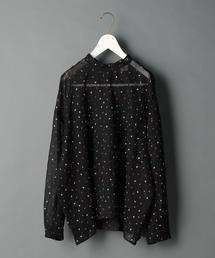 <6(ROKU)>SUKE EMBROIDERY SHIRT/シャツ