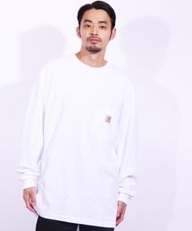 Carhartt(カーハート)のカーハート carhartt ロゴ ロングスリーブ ポケットTシャツ ビッグシルエット(Tシャツ/カットソー)