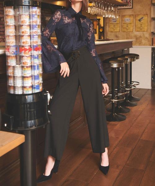 激安特価  eimyマーブルバックルベルトワイドパンツ(パンツ)|eimy istoire(エイミーイストワール)のファッション通販, 北海道ギフトストア:87273ab2 --- blog.buypower.ng