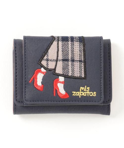 mis zapatos 三つ折り財布