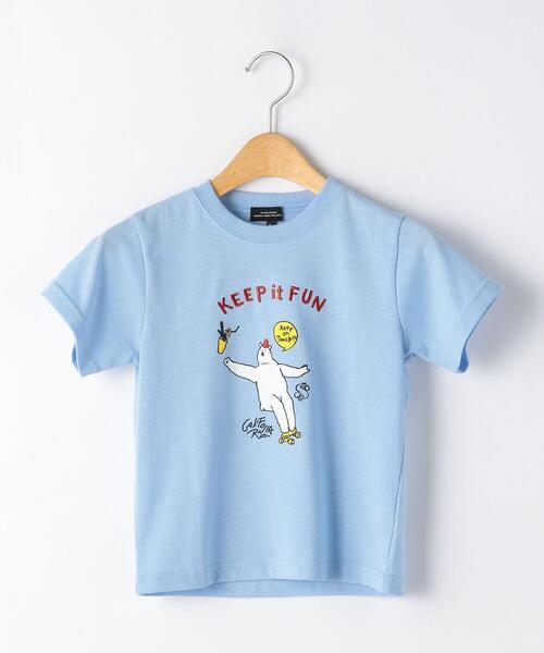 〔吸水速乾〕スポーツクマ Tシャツ