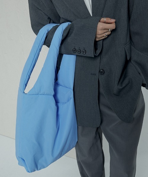 【chuclla】Puffer big tote bag cha199