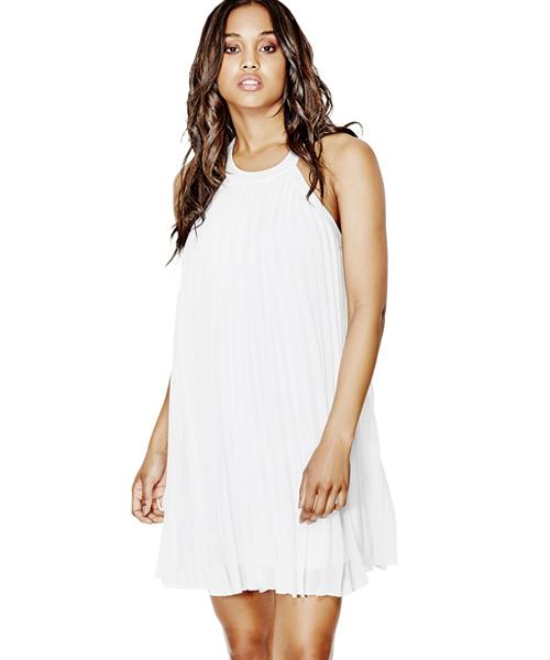 b8a293a7d165 セール FIONA PLEATED DRESS(ドレス)|Guess(ゲス)のファッション ...