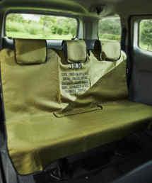 JACK & MARIE(ジャックアンドマリー)のJKM 防水シートカバー リア(巾着袋付)(インテリアアクセサリー)