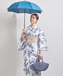<三勝>小菊 乱絽 浴衣▲