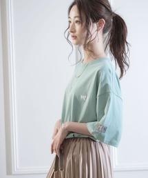 MEI/メイ MONO-MART別注 オーバーサイズ半袖Tシャツグリーン系その他