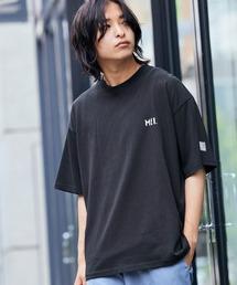 MEI/メイ MONO-MART別注 オーバーサイズ半袖Tシャツブラック