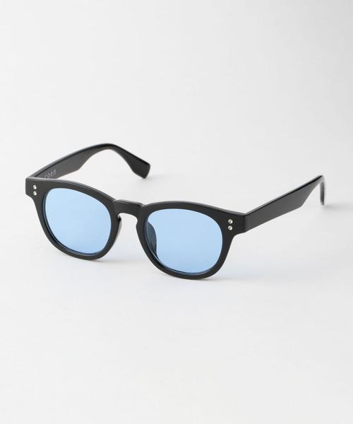 ファッションサングラス(ボストン/ウェリントン/ サングラスケース付き)