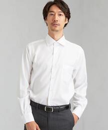 スリム シャドウ ストライプ SWD クレリック ドレスシャツ < 機能性 / イージーアイロン >
