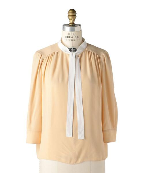 〈MARNI(マルニ)〉 BOW BLOUSE