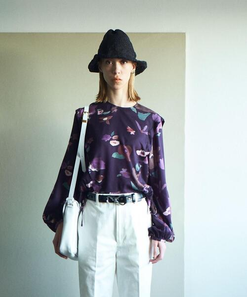 <Steven Alan>∴LIBERTY PRINT BIG FLOWER BLOUSE/ブラウス