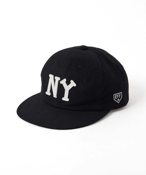 【別注】 <EBBETS FIELD FLANNELS> NY CAP/キャップ