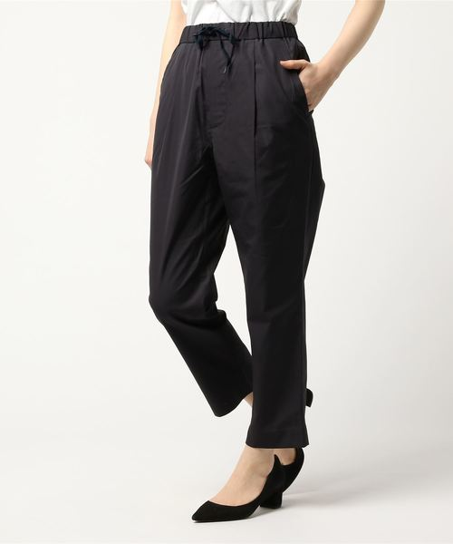 A VONTADE / ア ボンタージ 別注 1タックテーパードイージートラウザー(レディース) 1 TUCK TAPERED EASY TROUSERS