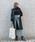 Vicente(ヴィセンテ)の「Hubby longコート(その他アウター)」|ブラック