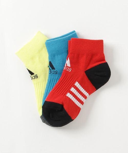 d1e99ef0a9c42 adidas(アディダス)の子供用 3Pショートソックス(ソックス 靴下)