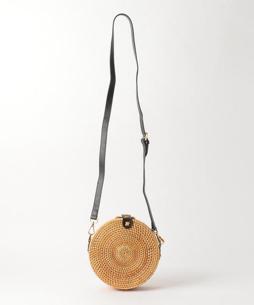 【別注】Msyuu(ミスユー)サークル かごバッグ / ショルダーバッグ