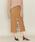 ASTRAET(アストラット)の「ASTRAET(アストラット)ヘリンボーン コンビ タイトスカート(スカート)」|ベージュ
