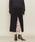 ASTRAET(アストラット)の「ASTRAET(アストラット)ヘリンボーン コンビ タイトスカート(スカート)」|ブラック