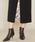 ASTRAET(アストラット)の「ASTRAET(アストラット)ヘリンボーン コンビ タイトスカート(スカート)」|詳細画像