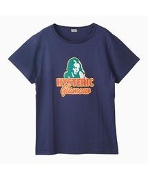 HYS WOMAN オーバーサイズTシャツネイビー