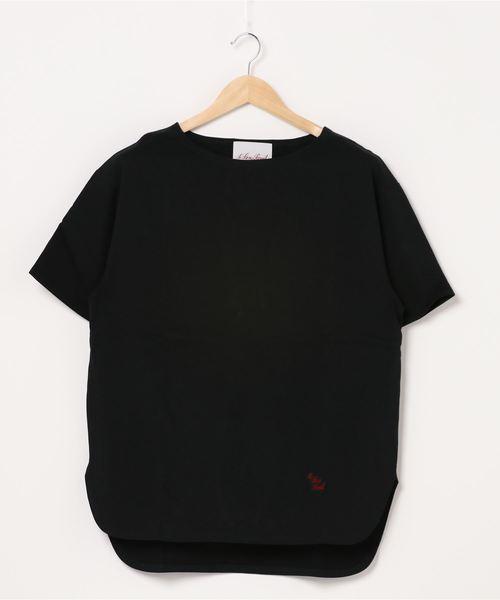 【 Le sans Pareil / ルサンパレイユ 】BOAT NECK TEE ボートネック Tシャツ femme(レディース)