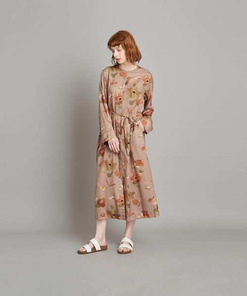 <Steven Alan>∴LIBERTY PRINT BIG FLOWER DRESS/ワンピース