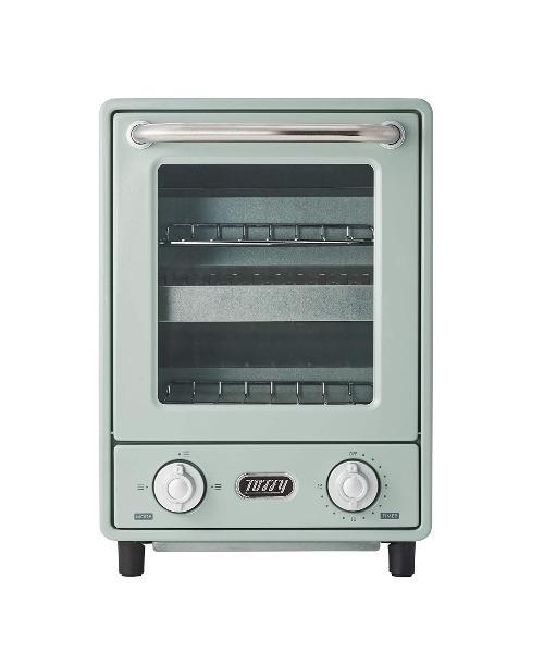 TOFFY (トフィー) オーブントースター K-TS4 縦型トースター2段
