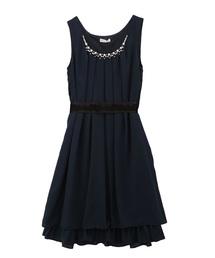 axes femme(アクシーズファム)のバックバラスリットドレス(ドレス)