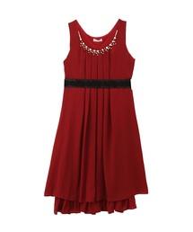 【結婚式・二次会におすすめ】バックバラスリットドレス(ドレス)