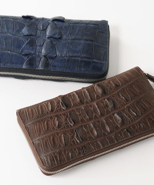 流行 sankyoクロコダイルレザー長財布(財布)|sankyo shokai(サンキョウショウカイ)のファッション通販, 三池郡:15a07bf4 --- pyme.pe