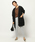 BARNYARDSTORM(バンヤードストーム)の「BARNYARDSTORM / 【otonaMUSE10月号掲載 佐田真由美さん着用】サイドスリットWクロスパンツ(パンツ)」|詳細画像
