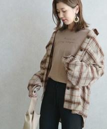 reca(レカ)のシャギーチェックCPOシャツ(シャツ/ブラウス)
