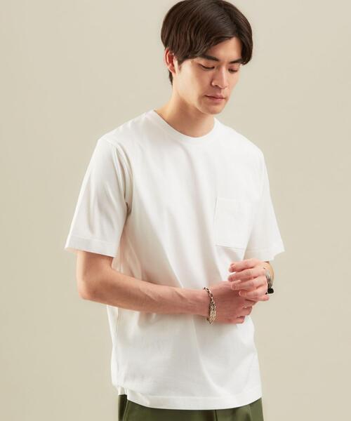 CM オーガニック クリア クルーネック 半袖 カットソー / Tシャツ #