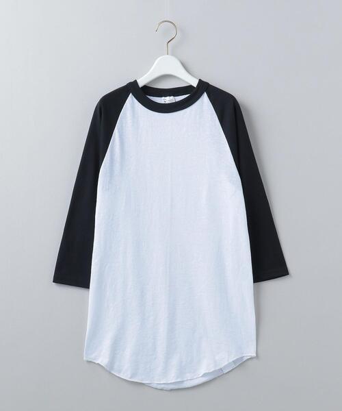 <+FOUR CORNERS>BASEBALL T-SHIRT/Tシャツ Ψ